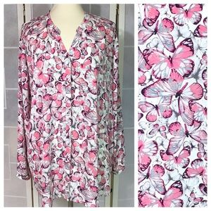 💥 Sejour butterfly blouse 20W